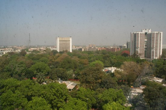Le Meridien New Delhi: View across  room 906
