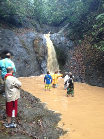 ATV Adventure Tours Costa Rica: the waterfall after a rainstorm- unreal