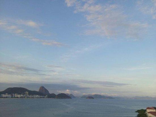 Sofitel Rio de Janeiro Copacabana: Vista da varanda do 7o andar
