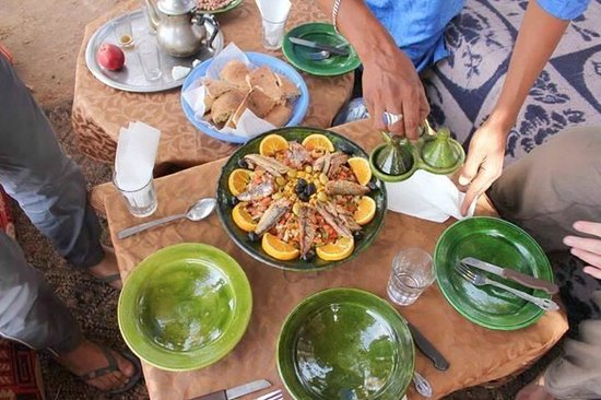 Traditional moroccan food picture of moroccan adventure for Authentic moroccan cuisine