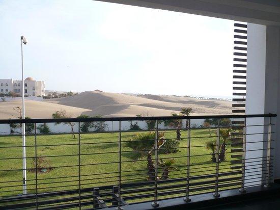 Sofitel Agadir Thalassa Sea & Spa : vue sur une partie de la dune
