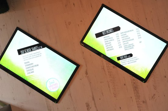 Slim's Kitchen: Digital Signage