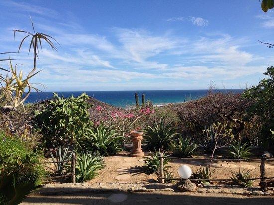 Villa del Faro: View from our room