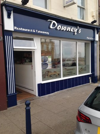 Downeys of Seaham: Downeys impressive new shop front