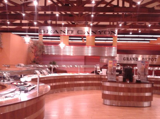 Grand Canyon Railway Hotel : The meal buffet at the hotel has wonderful choices.