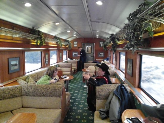 Grand Canyon Railway Hotel : Train experience has three train car classes, each with their own service person.