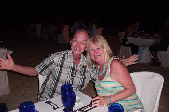 Occidental Caribe : Seafood dinner on the beach