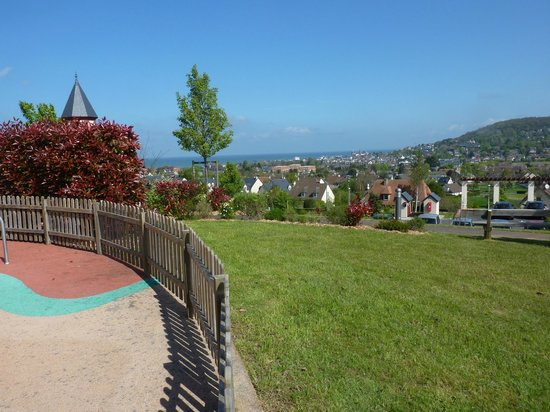 Pierre & Vacances Residence Premium Résidence & Spa : vue sur mer