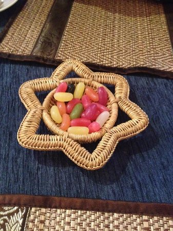 Thai Moon: caramelle servite alla fine