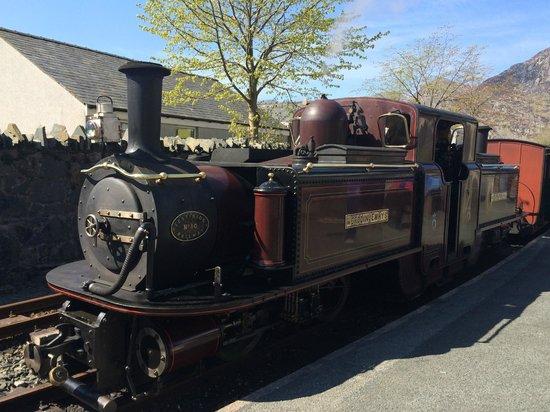 Ffestiniog & Welsh Highland Railways: The engine