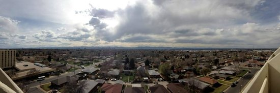 Holiday Inn Denver East-Stapleton: Panoramic View with iPhone, from room 1103
