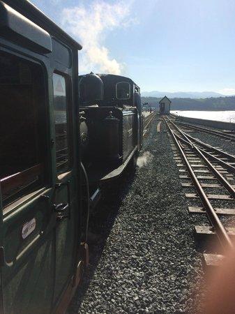 Ffestiniog & Welsh Highland Railways: We were at the front