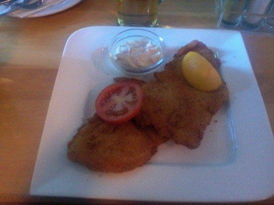 Cafe Einstein : Schnitzel de pollo