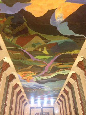 Dann Carlton Bucaramanga: Mural interno