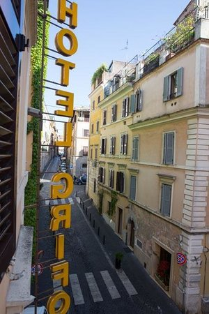 Hotel Grifo: View from window