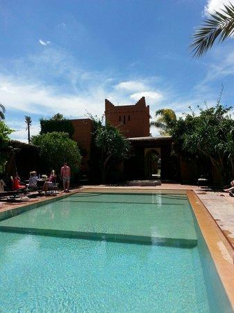 La Villa Kacy: La piscine
