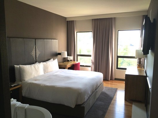 Andaz Napa : Bedroom area