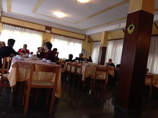 Albergo Paradiso: La sala ristorante