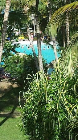 Catalonia Bavaro Beach, Casino & Golf Resort: pool/balcony view
