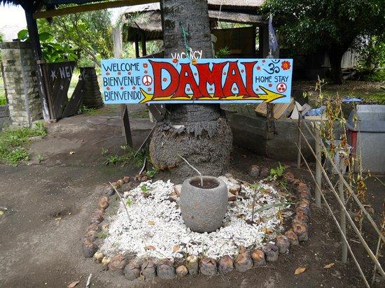 Damai Homestay: l'entrée