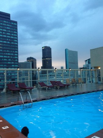 Warwick Denver Hotel : Heated Rooftop pool