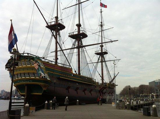 Nederlands Scheepvaartmuseum : Amsterdam ship 1
