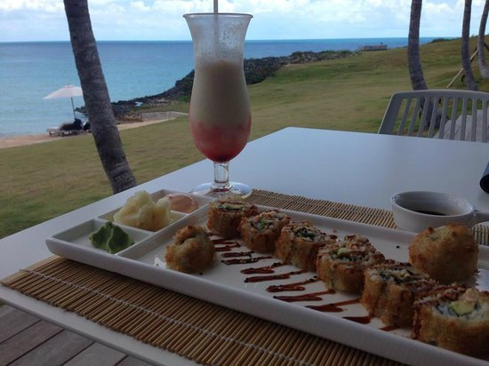 The Cove Eleuthera: Lunch at the grill