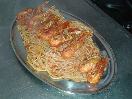 Ci Voleva : Spaghetti agli scampi