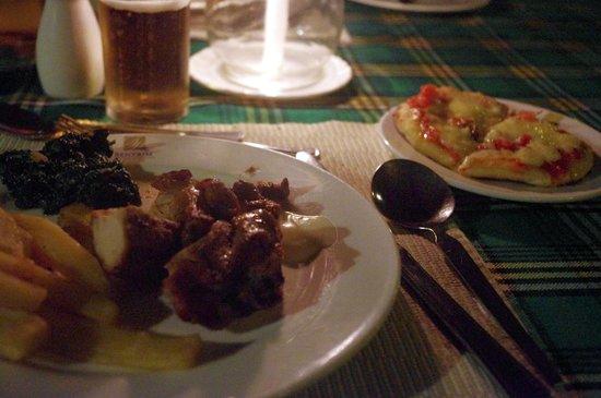 Sentrim Tsavo East : le pietanze