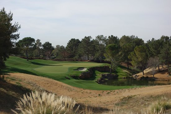 Shadow Creek Golf Club: Amazing par 3