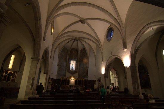 Parish Church of Sant Roma : Interior de la iglesia