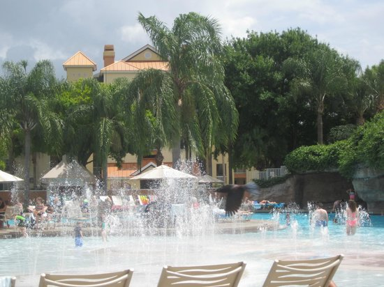 Sheraton Vistana Resort Villas- Lake Buena Vista : Cascades pool