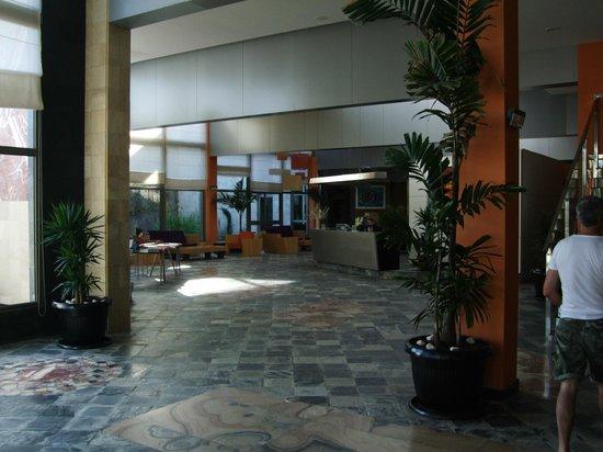 Geranios Suites & Spa Hotel: reception