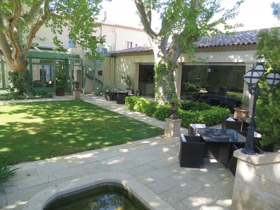 Villa Mazarin : jardin