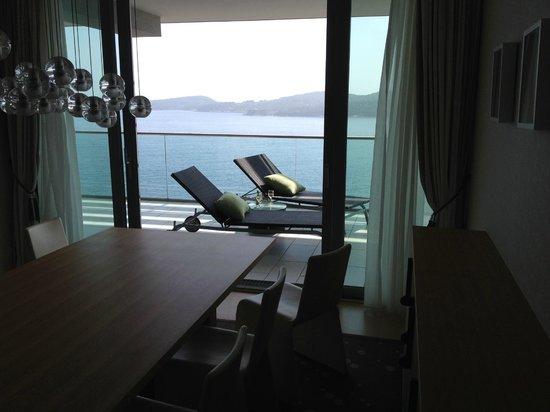 Sun Gardens Dubrovnik: Suite balcony