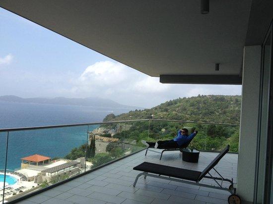 Sun Gardens Dubrovnik: Presidental suite view