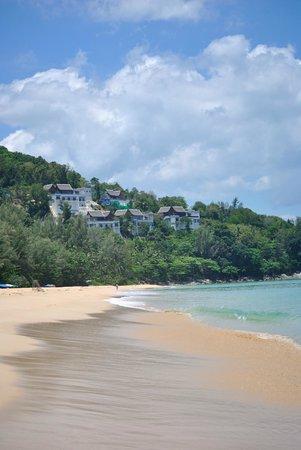 Naithonburi Beach Resort : Пляж