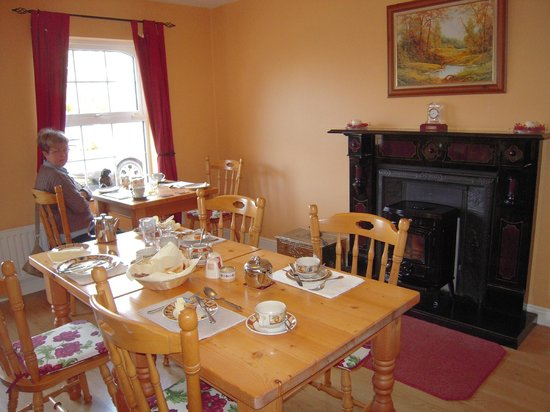 Ashbrook House: sala colazione