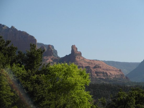 Best Western Plus Inn of Sedona : View from our room