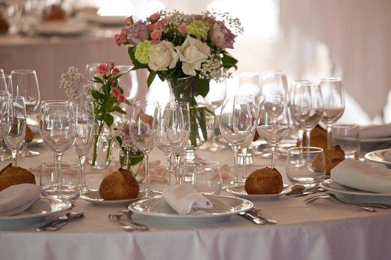 Chateau du Pian : table invités
