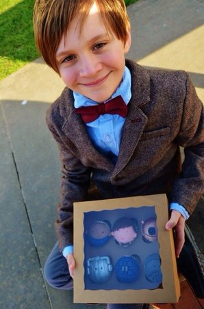 11th Doctor For The 12 Year Old Birthday Boy Almost Too Cute To Eat