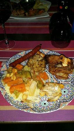 Restaurant la Medina : Couscous royale