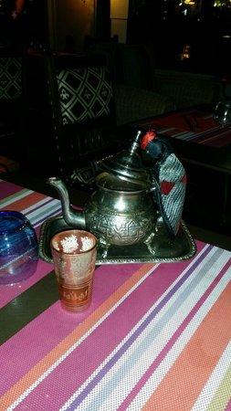 Restaurant la Medina : Le thé a la menthe