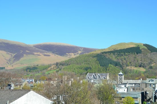 Brundholme Bed and Breakfast: View towards Keswick from Room 4