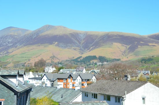 Brundholme Bed and Breakfast: View to Skiddaw from Room 4