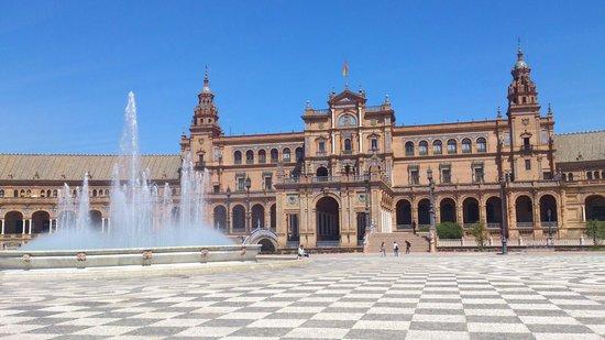 Place d'Espagne : Plaza de Espana