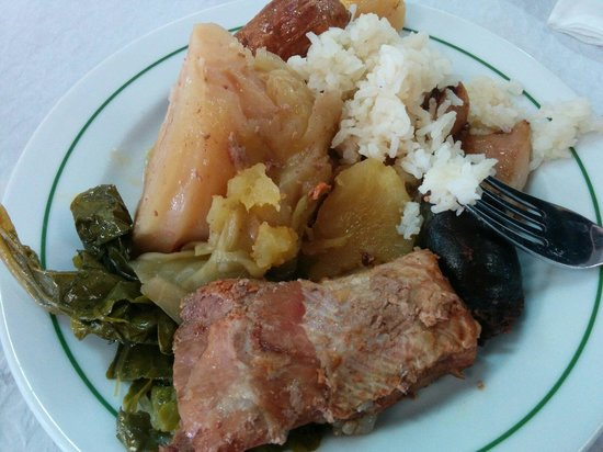 Restaurante Tonys: Traditional dish