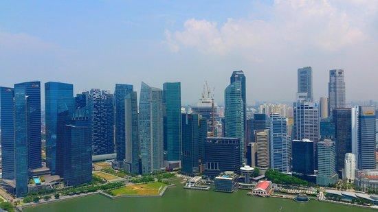 Vue du Marina Bay Sands Skypark