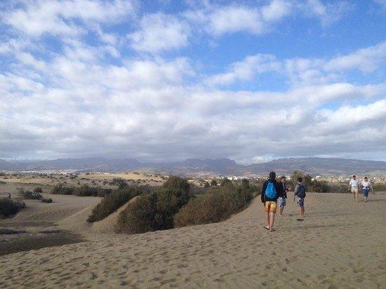 Faro de Maspalomas: dune