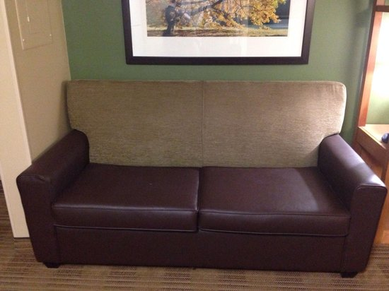 Extended Stay America   Columbus   Polaris: Sleeper Sofa In Addition To Bed.